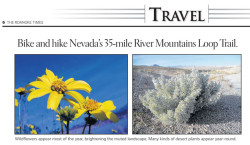 Las Vegas Hiking Trail Featured in Article